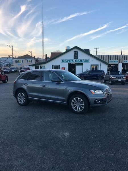 2014 Audi Q5 for sale at Dave's Garage Inc in Hampton NH