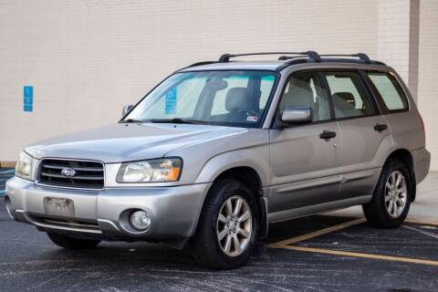2005 Subaru Forester for sale at Carland Auto Sales INC. in Portsmouth VA