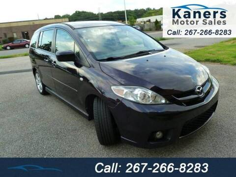 2007 Mazda MAZDA5 for sale at Kaners Motor Sales in Huntingdon Valley PA