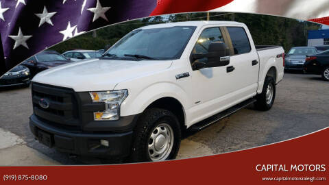 2017 Ford F-150 for sale at Capital Motors in Raleigh NC