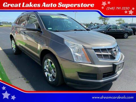 2012 Cadillac SRX for sale at Great Lakes Auto Superstore in Waterford Township MI