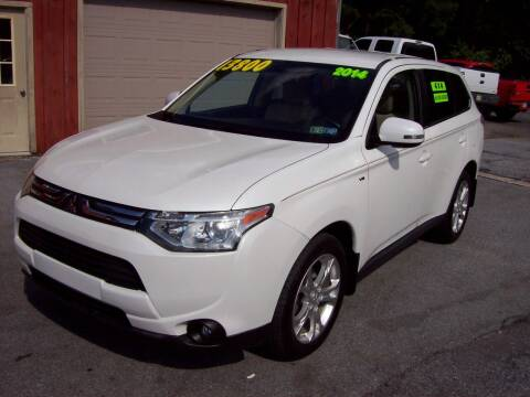 2014 Mitsubishi Outlander for sale at Clift Auto Sales in Annville PA