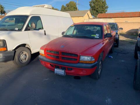 2001 Dodge Dakota for sale at L & M MOTORS in Santa Maria CA