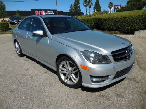2014 Mercedes-Benz C-Class for sale at ARAX AUTO SALES in Tujunga CA