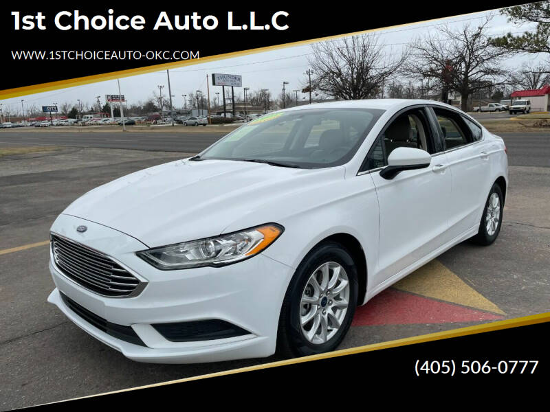 2018 Ford Fusion for sale at 1st Choice Auto L.L.C in Oklahoma City OK