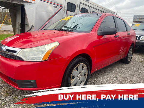 2008 Ford Focus for sale at WINNERS CIRCLE AUTO EXCHANGE in Ashland KY