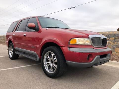 1998 Lincoln Navigator for sale at Eastside Auto Sales in El Paso TX