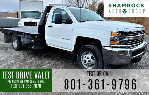 2018 Chevrolet Silverado 3500HD CC for sale at Shamrock Group LLC #1 in Pleasant Grove UT