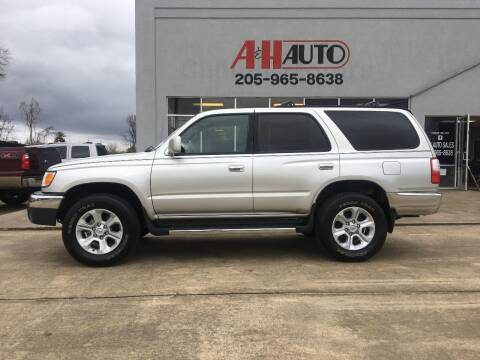 2001 Toyota 4Runner for sale at A & H Auto Sales in Clanton AL