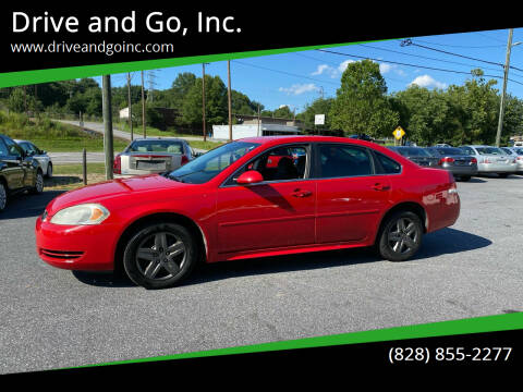 2010 Chevrolet Impala for sale at Drive and Go, Inc. in Hickory NC