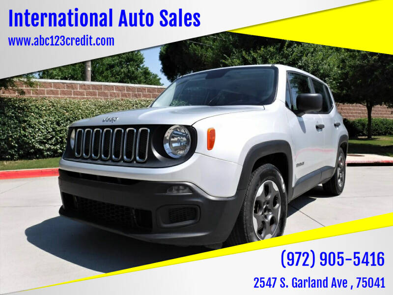 2015 Jeep Renegade for sale at International Auto Sales in Garland TX