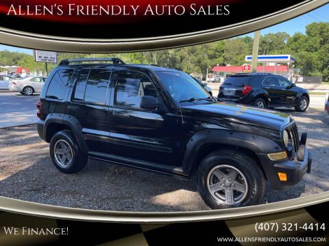 2006 Jeep Liberty for sale at Allen's Friendly Auto Sales in Sanford FL