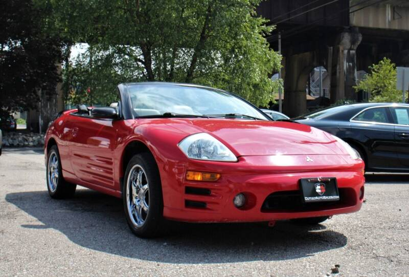 2003 Mitsubishi Eclipse Spyder for sale at Cutuly Auto Sales in Pittsburgh PA
