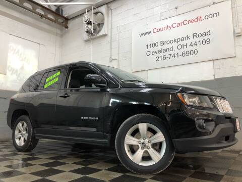 2016 Jeep Compass for sale at County Car Credit in Cleveland OH