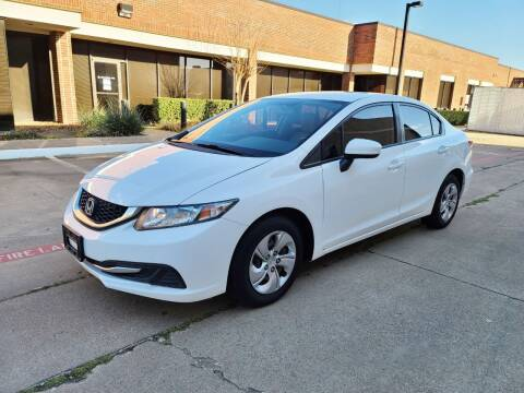 2015 Honda Civic for sale at DFW Autohaus in Dallas TX