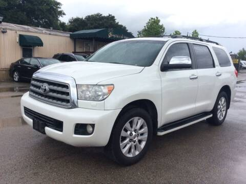 2010 Toyota Sequoia for sale at OASIS PARK & SELL in Spring TX