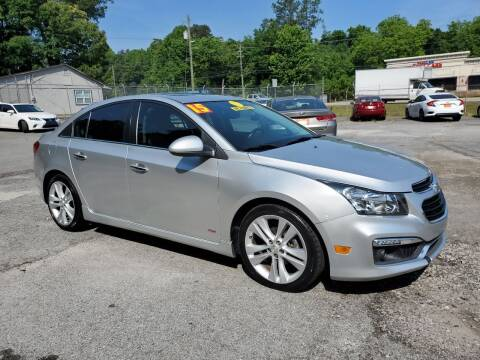 2015 Chevrolet Cruze for sale at Import Plus Auto Sales in Norcross GA