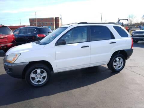 2008 Kia Sportage for sale at Big Boys Auto Sales in Russellville KY