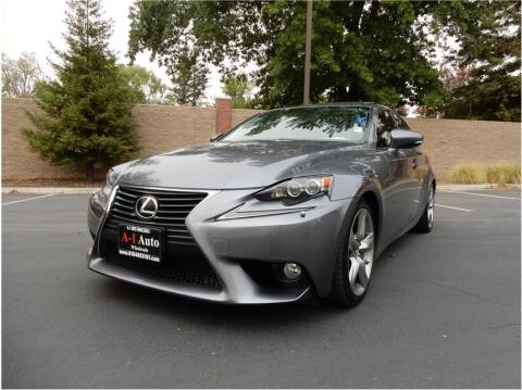 2014 Lexus IS 350 for sale at A-1 Auto Wholesale in Sacramento CA
