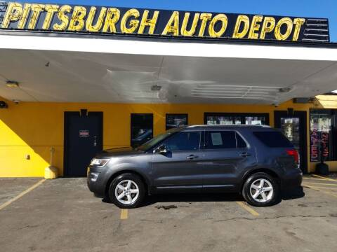 2017 Ford Explorer for sale at Pittsburgh Auto Depot in Pittsburgh PA