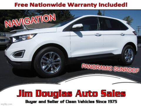 2017 Ford Edge for sale at Jim Douglas Auto Sales in Pontiac MI