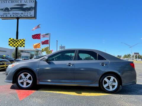 2012 Toyota Camry for sale at 1st Choice Auto L.L.C in Oklahoma City OK