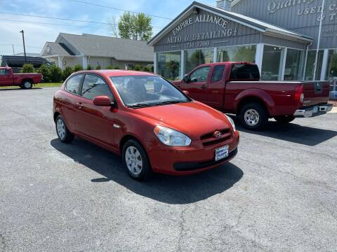 2010 Hyundai Accent for sale at Empire Alliance Inc. in West Coxsackie NY