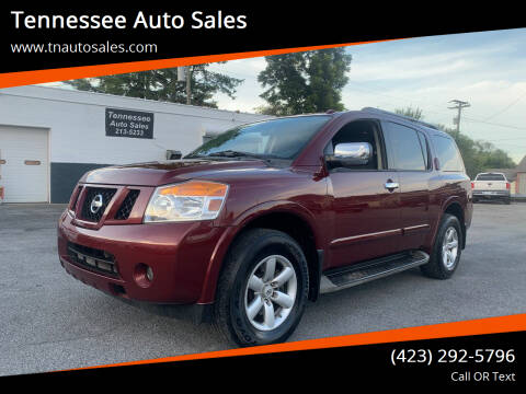 2012 Nissan Armada for sale at Tennessee Auto Sales in Elizabethton TN