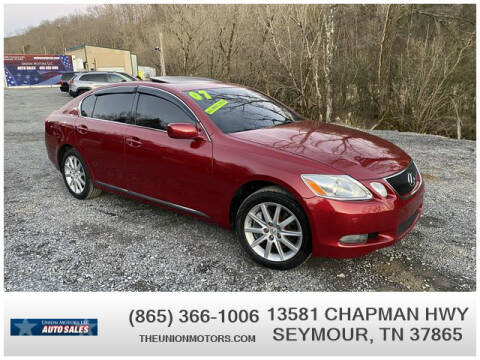 2007 Lexus GS 350 for sale at Union Motors in Seymour TN