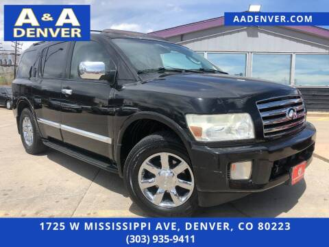 2004 Infiniti QX56 for sale at A & A AUTO LLC in Denver CO