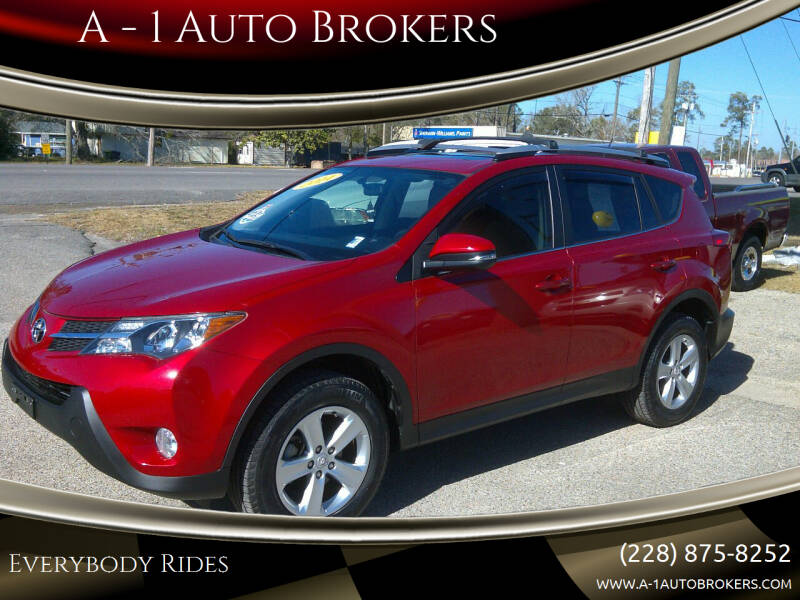 2014 Toyota RAV4 for sale at A - 1 Auto Brokers in Ocean Springs MS