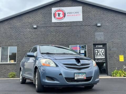2008 Toyota Yaris for sale at Big Man Motors in Farmington MN