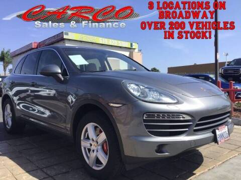 2012 Porsche Cayenne for sale at CARCO SALES & FINANCE in Chula Vista CA
