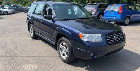 2006 Subaru Forester for sale at Manchester Auto Sales in Manchester CT