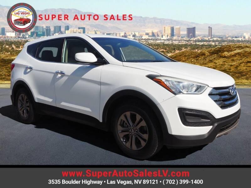 2013 Hyundai Santa Fe Sport for sale at Super Auto Sales in Las Vegas NV
