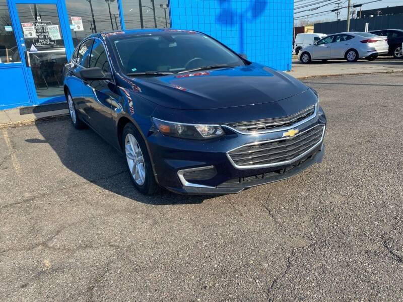 2018 Chevrolet Malibu for sale at M-97 Auto Dealer in Roseville MI