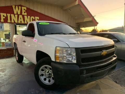 2011 Chevrolet Silverado 1500 for sale at Caspian Auto Sales in Oklahoma City OK