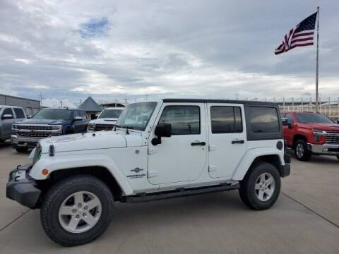 2014 Jeep Wrangler Unlimited for sale at Jerry's Buick GMC in Weatherford TX