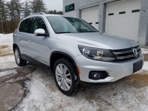 2013 Volkswagen Tiguan for sale at Pittsford Automotive Center in Pittsford VT