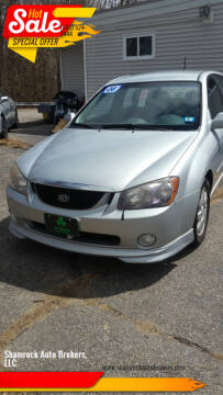 2006 Kia Spectra for sale at Shamrock Auto Brokers, LLC in Belmont NH