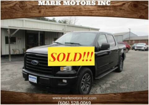 2016 Ford F-150 for sale at Mark Motors Inc in Gray KY