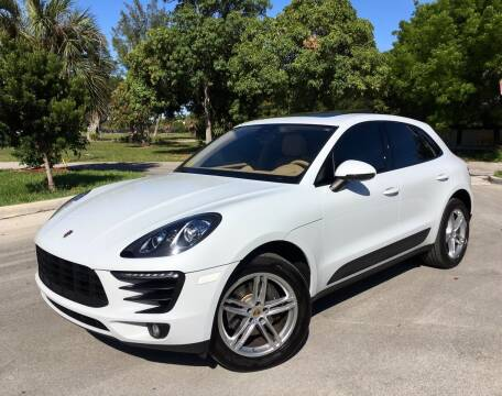 2017 Porsche Macan for sale at FIRST FLORIDA MOTOR SPORTS in Pompano Beach FL