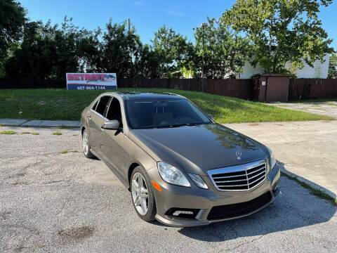 2011 Mercedes-Benz E-Class for sale at Detroit Cars and Trucks in Orlando FL