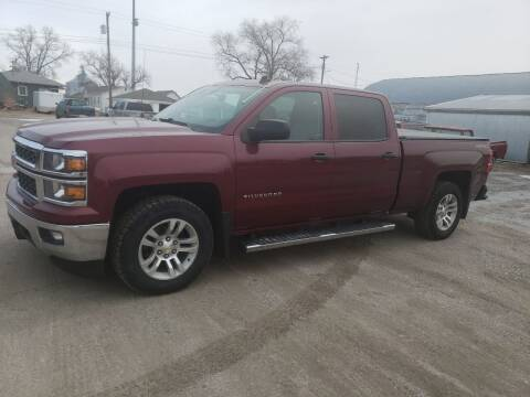 2014 Chevrolet Silverado 1500 for sale at Faw Motor Co in Cambridge NE