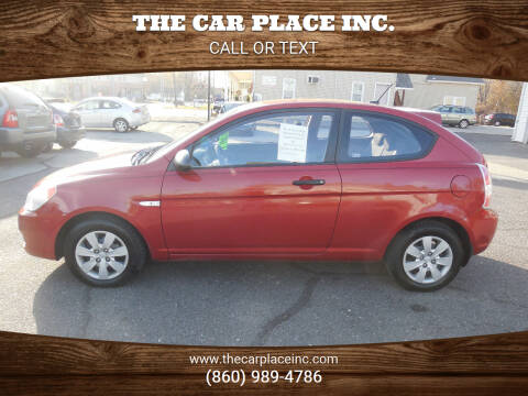 2009 Hyundai Accent for sale at THE CAR PLACE INC. in Somersville CT
