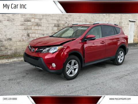 2014 Toyota RAV4 for sale at My Car Inc in Pls. Call 305-220-0000 FL