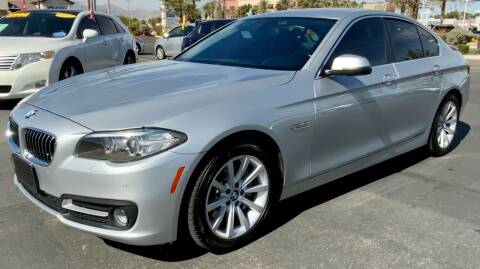 2015 BMW 5 Series for sale at Charlie Cheap Car in Las Vegas NV