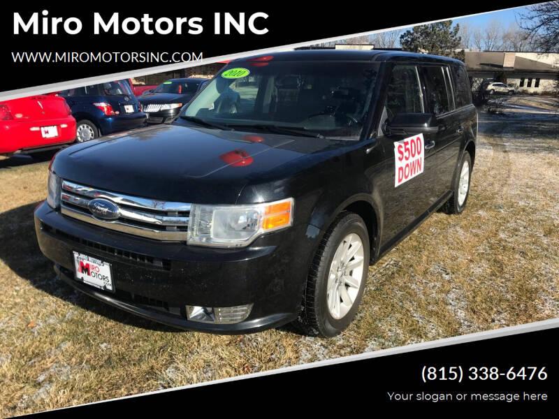 2010 Ford Flex for sale at Miro Motors INC in Woodstock IL