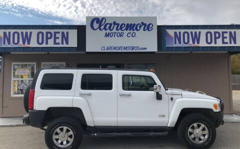 2006 HUMMER H3 for sale at Claremore Motor Company in Claremore OK