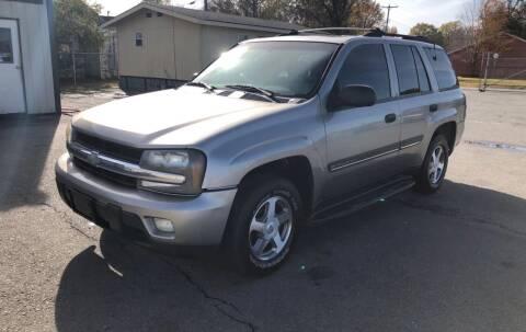 2002 Chevrolet TrailBlazer for sale at Elders Auto Sales in Pine Bluff AR